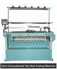 Semi Computerized Flat Bed Knitting Machines