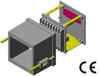 1/4 DIN Panel Instrument Cases