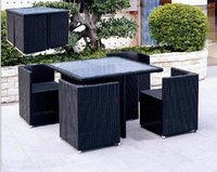 Patio Set Rattan Chair