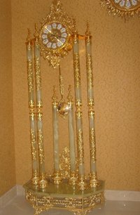 24K Gold-plated Clock