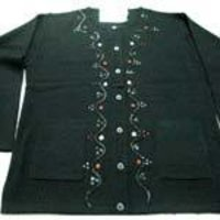 Embroidered Ladies Cardigan