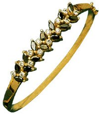 Gold Designer Bangles