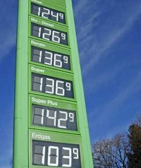 LED Gas Price Sign
