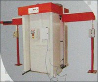 Movable Leg Automatic Crinkle Machine With Cabin