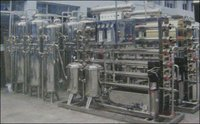 Mineral Water Processing And Filing Machineries