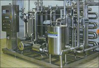 Plate And Tube In Tube High Temperature Pasteurizer