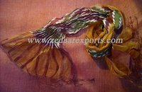 Silk Lycra Scarves