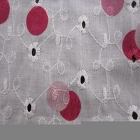 100% Cotton Embroidered Fabric