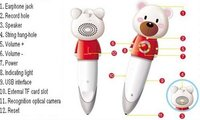 Edusonic Cute Bear Electronic Reading Pen