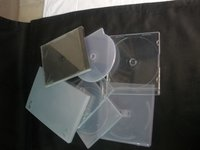 Plastic Cd/Dvd Cases