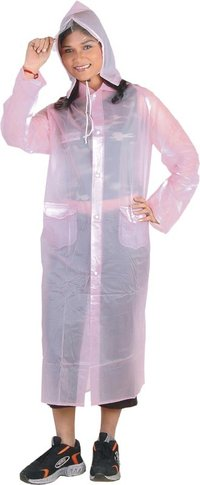 Ladies Transparent Raincoats