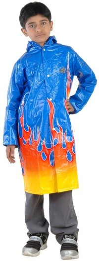 Boys Fire Raincoat
