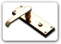 Vic. Flat Privacy Lever Latch