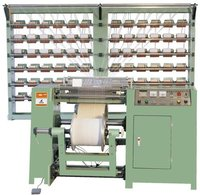 Latex (Elastic) Warping Machine