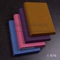 Fabric Covered Fiberglass Acoustical Wall Panel