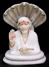 Sai Baba Statues With Snake