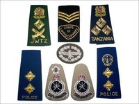Shoulder Rank Badges