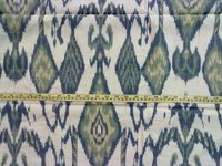 Ikat Cotton Hand Woven Fabric