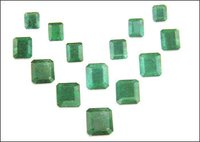 Square Shape Emerald Gemstones