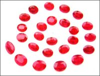 Round Shape Ruby Gemstones