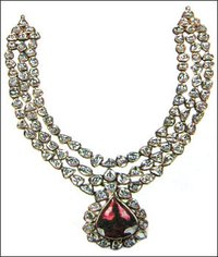 Diamond Studded Necklace