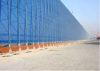 Dust Suppression And Wind Proofing Wall