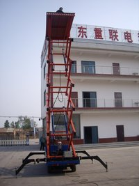 Hydraulic Scissor Lift With Truck