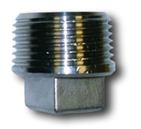 Stainless Steel Square End Plugs