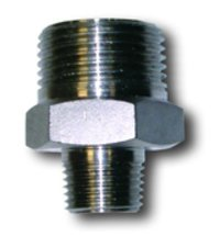 Stainless Steel Hexagonal Reducing Nipple