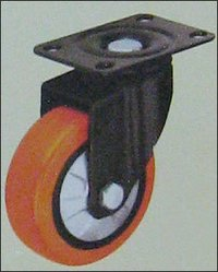 Polyurethane Double Ball Bearing Caster Wheels