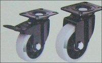 Polypropylene (Pp-G) Double Ball Bearing Caster Wheels