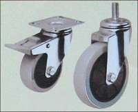 Polypropylene (Pp-G) Single Ball Bearing Caster Wheels