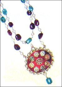 Kundan Meena With Different Stones