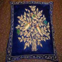 Zardozi Embroidered Cushions Cover