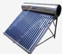 Non Pressure Solar Water Heater