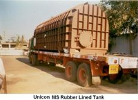Ms Rubber Lined Tank