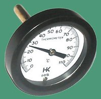 Bimetal Type Temperature Gauge
