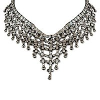 Fashionable Silver Necklace