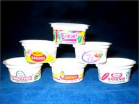 Disposable Ice Cream Printed Cups