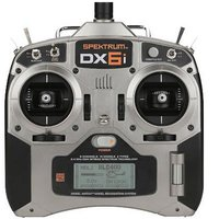 2.4g 6ch RC Transmitter Spektrum dx6i+AR6100E