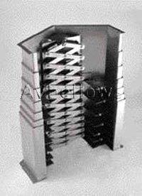 Vertical Telescopic Steel Way Covers