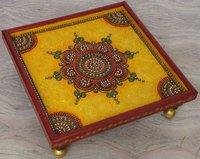 Papier Mache and Kundan Handicraft - Chowki