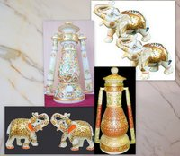 Marble Lanterns and Animal Figures