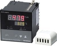 Micro-processor Based Humidity Temperature Controller