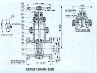 Gate Valves-Non Rising Flanged Stems