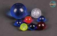 Acrylic Colored Ball With Hole (Mingshi)