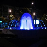 Under Water Fountain With Lights