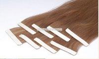 100% Human Hair ( Virgin Remy Hair ) Skin weft Hair Extension