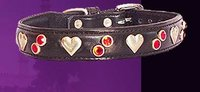 Heart Gems Baby Dog Collar