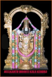 Terupati Balaji Statue